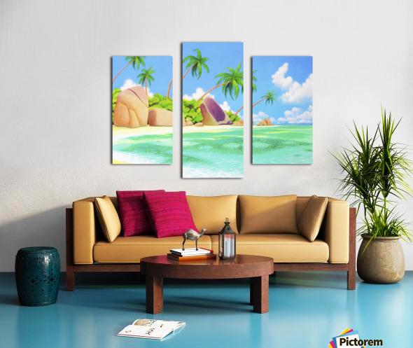 YASAWA  Canvas print