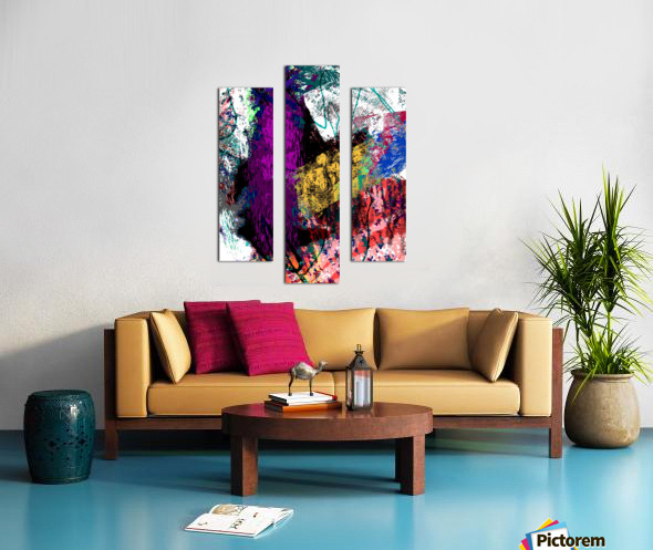 Sumthing Canvas print
