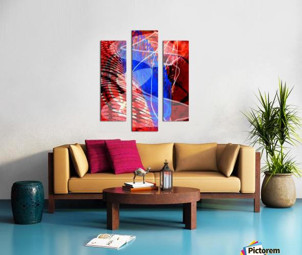 Z I T U Canvas print