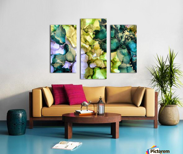 Forest Echoes Canvas print