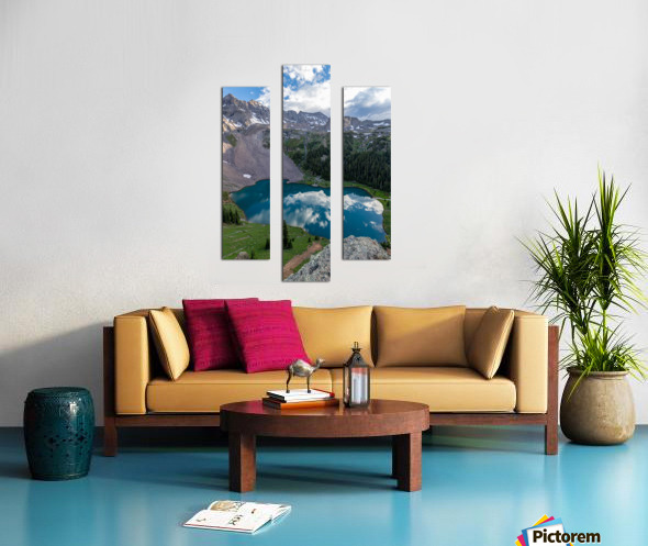 Dreaming in Blues Canvas print