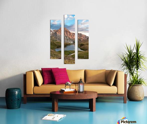 Sunrise on the Mountain Canvas print