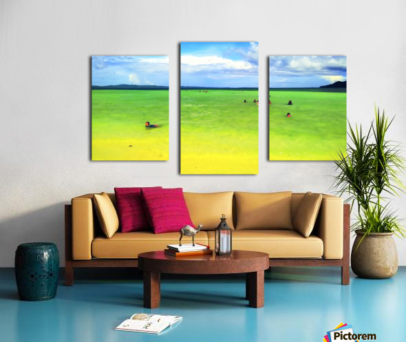 Color of summer Canvas print