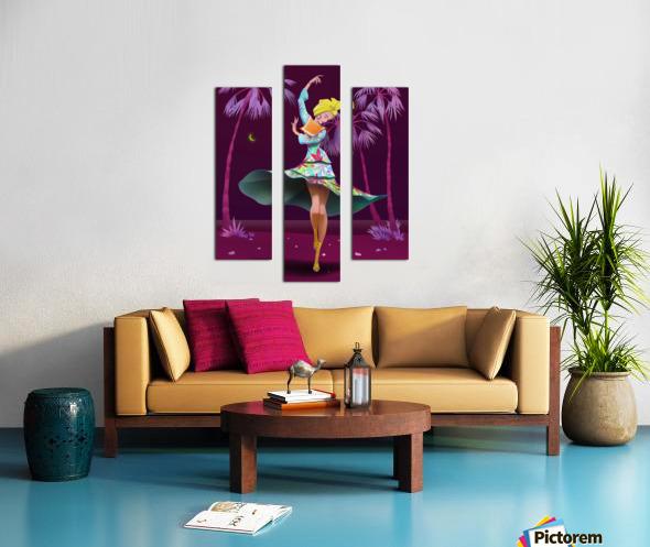 BIG GIRL 4 Canvas print