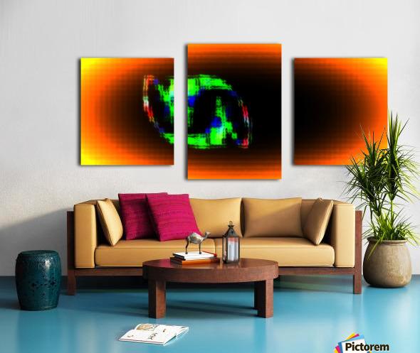 Fractal Design 16 Canvas print