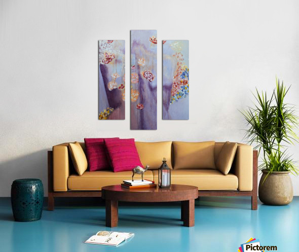 Figure in a  Dreamscape II Canvas print