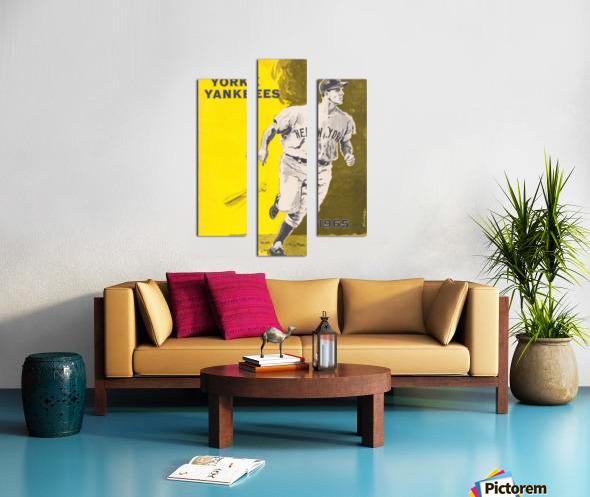 1965 new york yankees poster Canvas print
