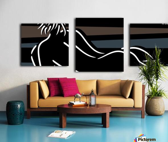 Nude 4 Canvas print