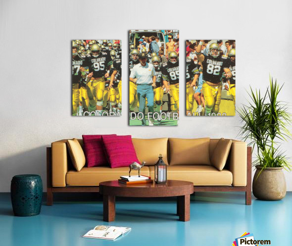 1988 colorado football Canvas print