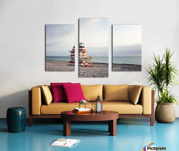 Miami Beach 029 Canvas print