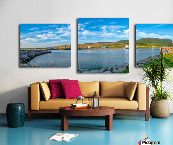Grand Etang Harbour Vista Canvas print