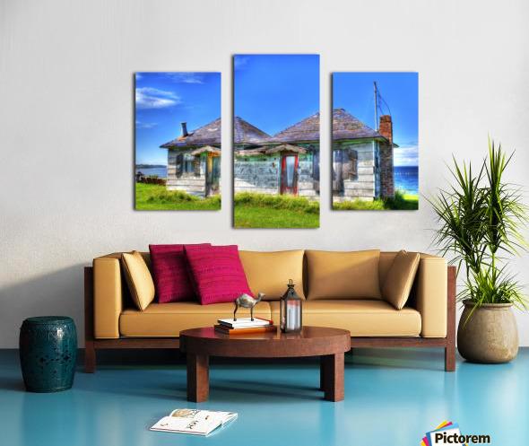 Cabines de plage Canvas print