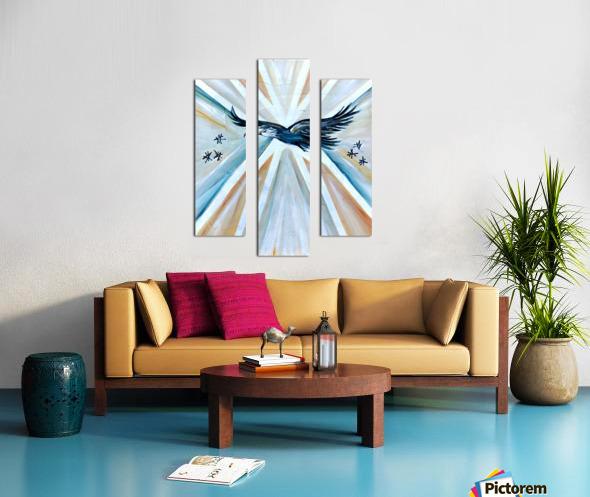 Art deco Freedom Canvas print