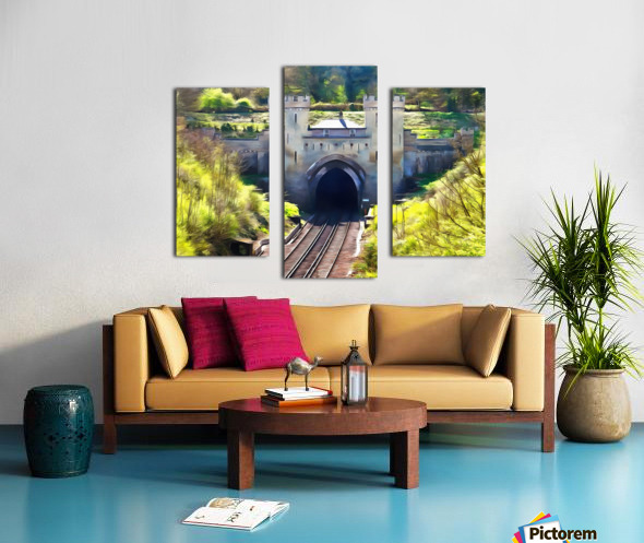 Clayton Tunnel in Sussex England Canvas print