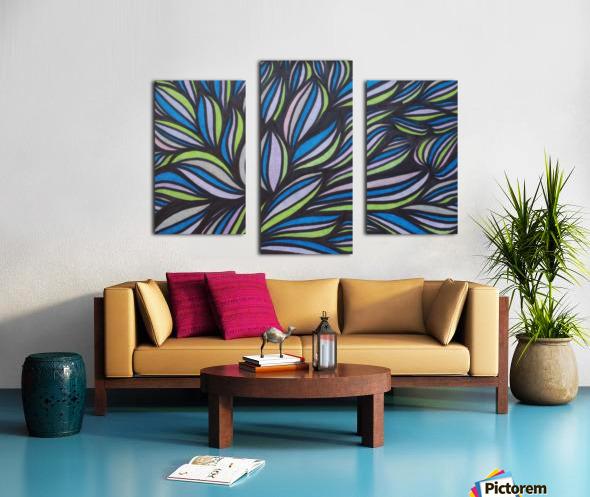 Caspia  Canvas print