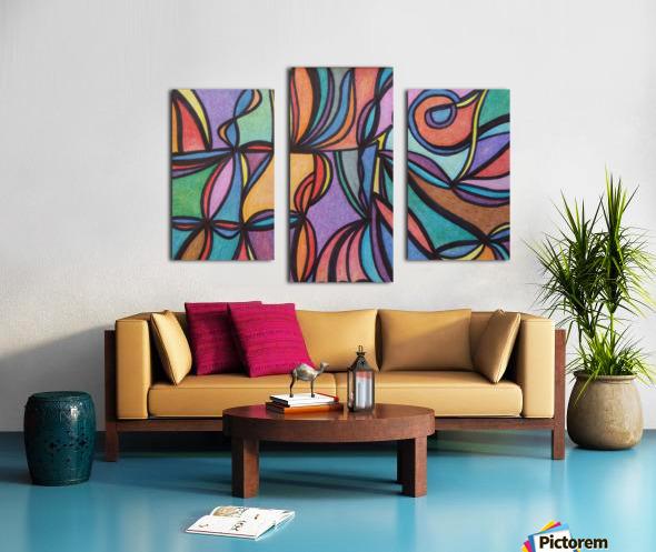 Dathan  Canvas print