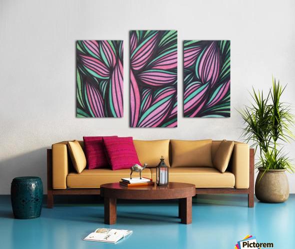 Mazeri  Canvas print