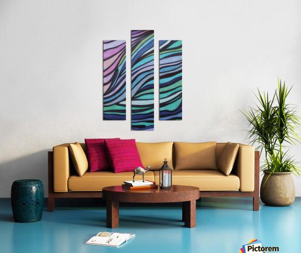 Lone Tide  Canvas print