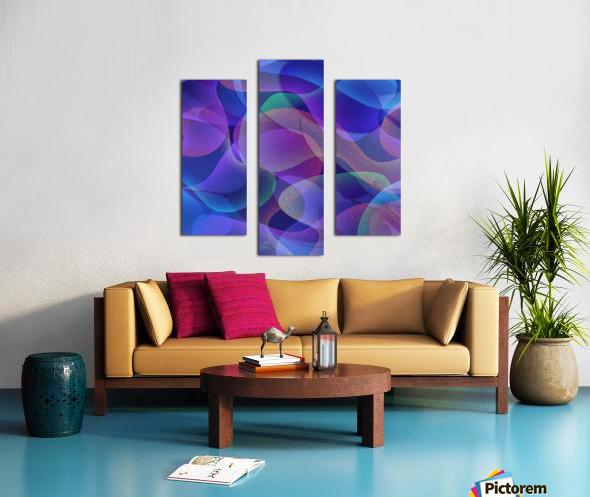 ABSTRACT ART 24 Canvas print