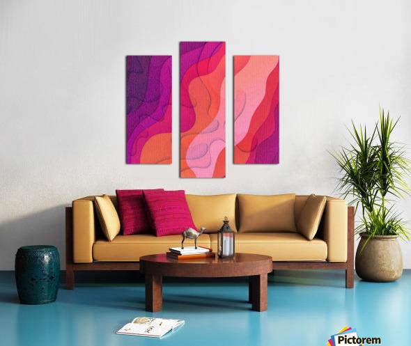 ABSTRACT ART 40 Canvas print