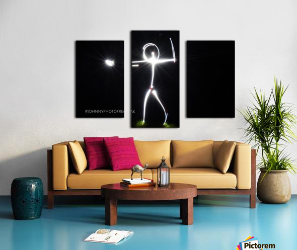 Stickman series  Canvas print