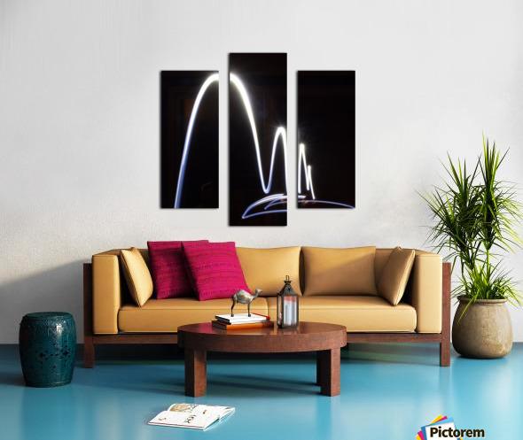 Light Trail  Canvas print