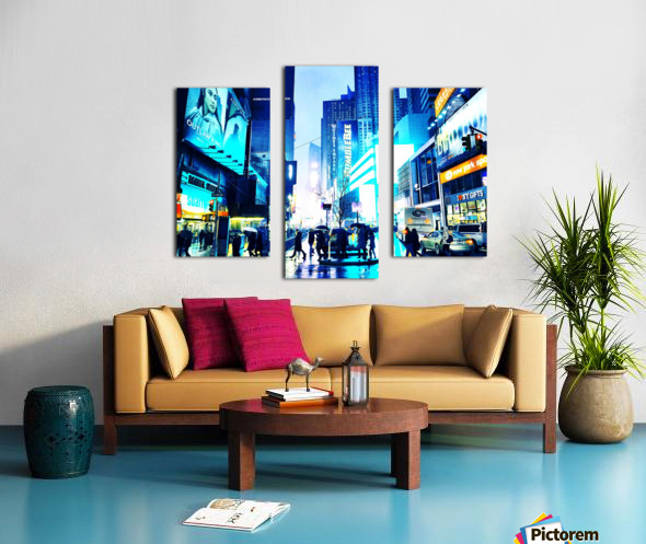 Time square New-York  Canvas print