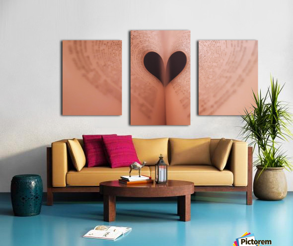 Love of Reading Canvas print