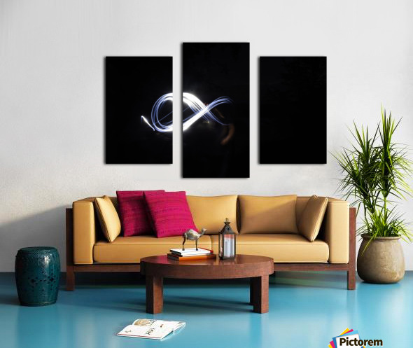 Abstract infinity  Canvas print