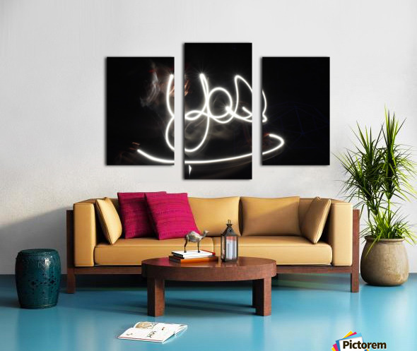 Yes word  Canvas print