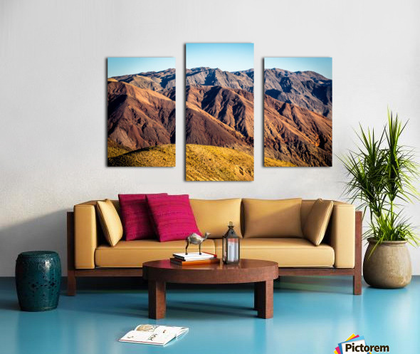 Death Valley mountain Canvas print