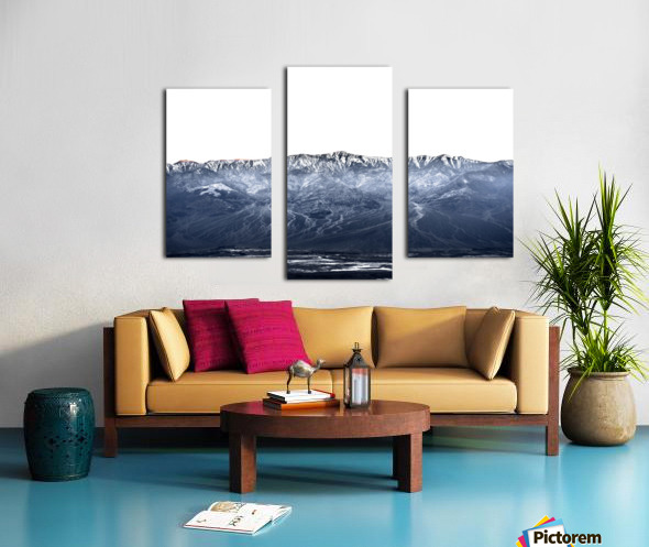 Dantes peak Canvas print
