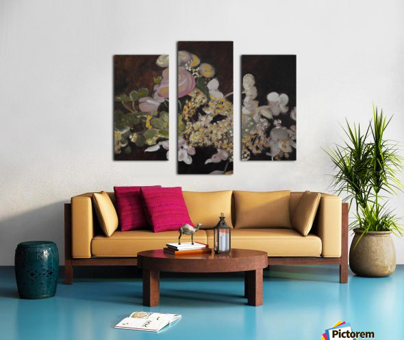 The Table Bouquet Canvas print