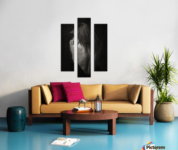 Melany 3 Canvas print