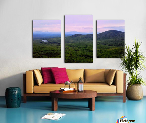 Spruce Mountain Canvas print