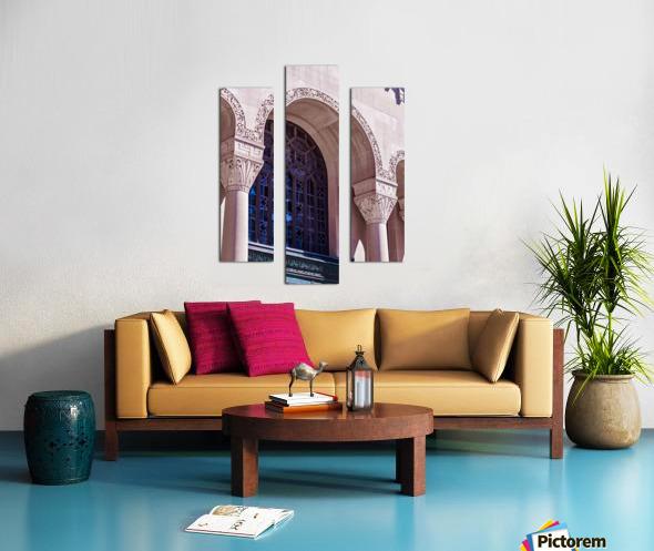 Foster Memorial Window Canvas print