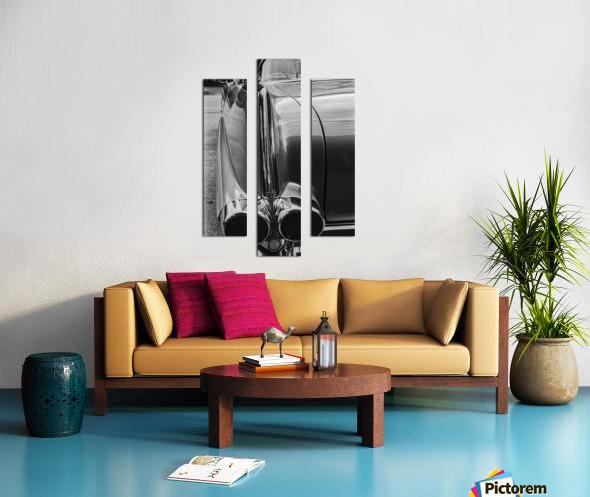 Chrome Sharkfin Canvas print