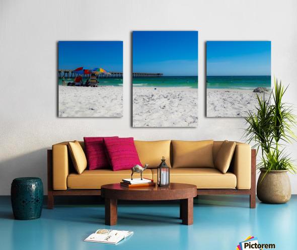 The Emerald Coast Canvas print