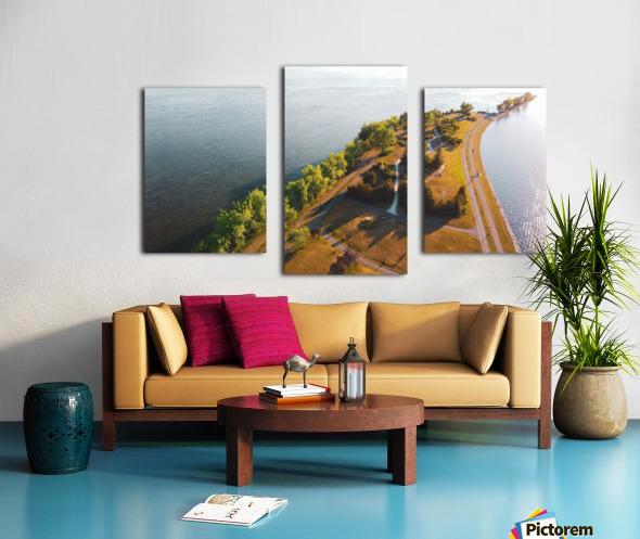 West River Shore Canvas print