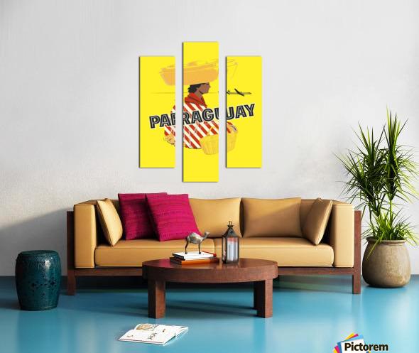 Paraguay Canvas print