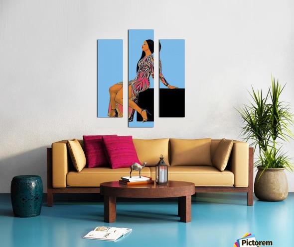 Wishlist Canvas print