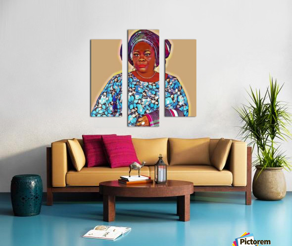 Sholingaye Impression sur toile