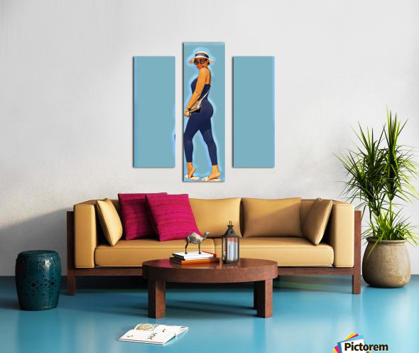 Survey Canvas print