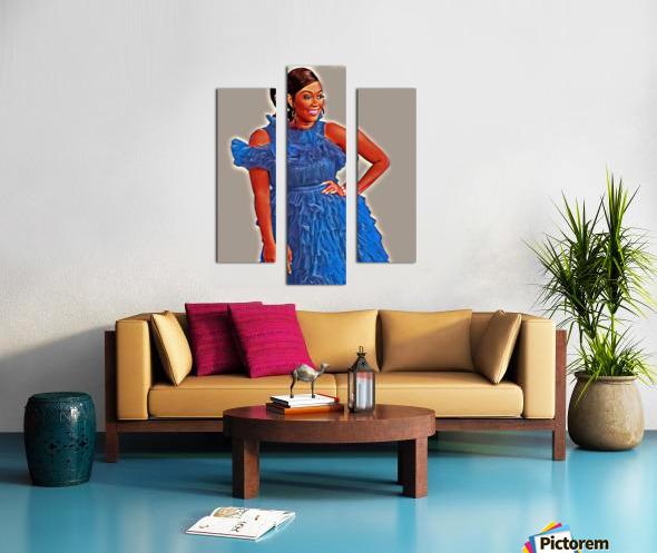 Sapphire Impression sur toile