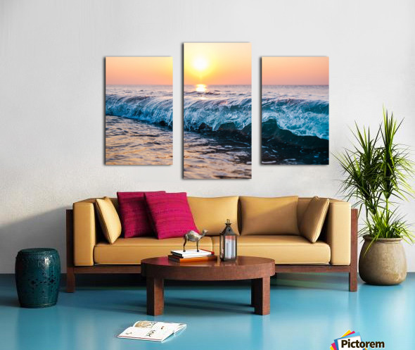 Morning Break Canvas print