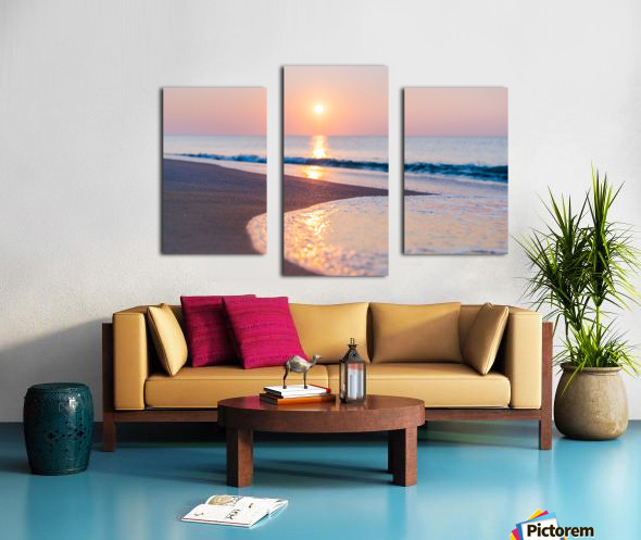 Seashore Bliss Canvas print