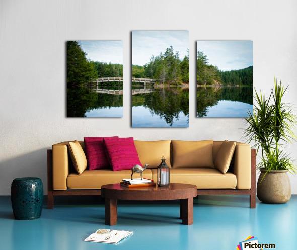 Beautiful Arch Bridge Canvas print