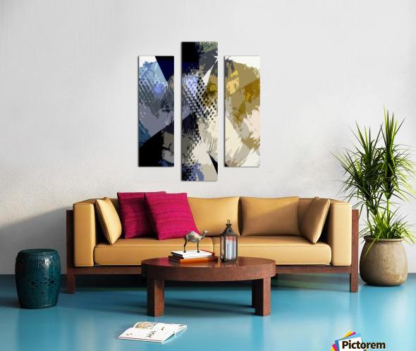 S H I A Canvas print