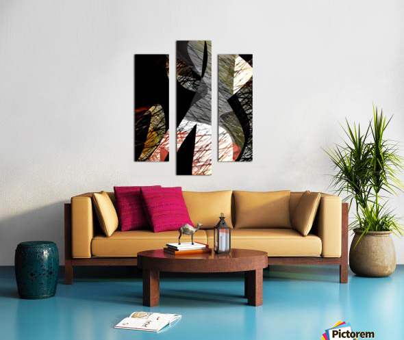 J A Z Z Canvas print