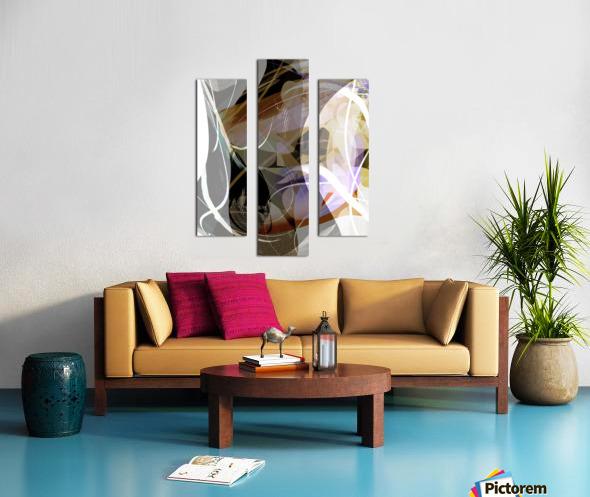 A M U Canvas print